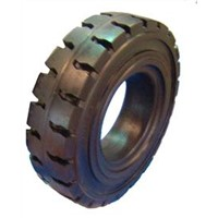 Super high flexibility solid tyres
