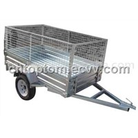 cage trailer, box trailer with cage