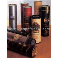 paper tubes for red wine