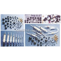 rubber pistons for disposable syringes
