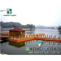 MF Pontoon-Floating Platform for Wooden House