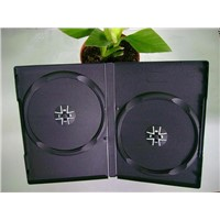 14mm single and double black DVD case