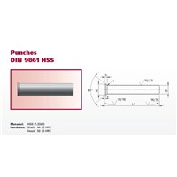 DIN9861 PUNCH