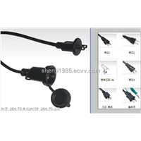 Japan standards PSE JET power cord