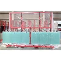 NOVAL Tempered Acid etched glass door