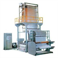 Plastic Extrusion and Blow Mould Film Machine
