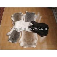 Rabbit fur skin
