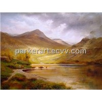 Oil Painting Landscape (FJ0024)