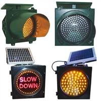 Solar Led Traffic Signal
