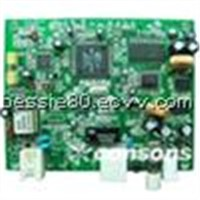 green PCB assembly