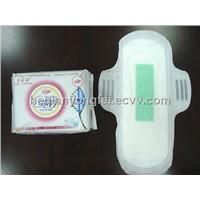 negative ion sanitary napkin