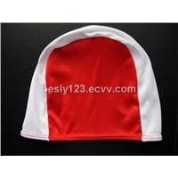 polyester swim cap
