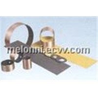 steel bronze powder with POM marginal bearings