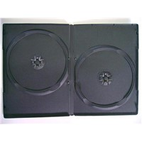 9mm single and double balck DVD case