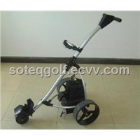 A003-1 Electric Aluminum Golf Caddy, Buggy, Trolley