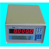 Auto controlling weighing indicator