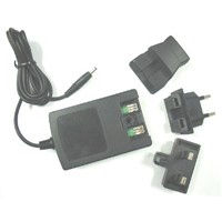 Compact Electronic Travel Charger for Both Lithium and Ni-MH Batteries with Changeable Plug