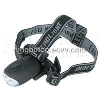 Crank dynamo LED headlamp