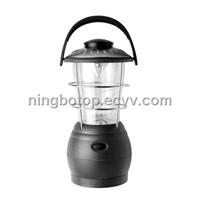 Crank dynamo camping light