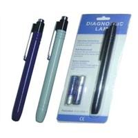 Diagnostic pen light/torch with pocket clip