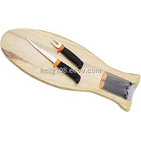 FISHING KNIFE WITH FISH BOARD