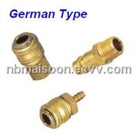 German Type Couplers