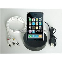 IDOCK iPhone 3G Docking with output