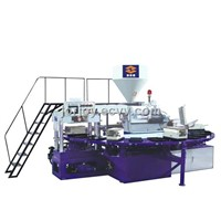 PVC air blow molding machine