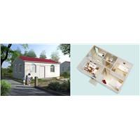Prefabricated assembling house 50sqm