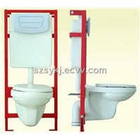 Saucy & Built-in-Wall  Cistern in Washroom (SY102)