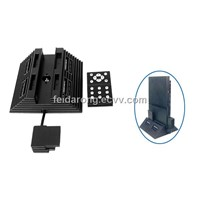 Vertical Stand with Multi-tap and DVD Remote for PS2 Slim