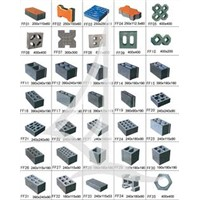 blocks machine mould