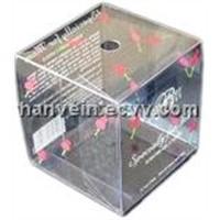 clear pvc/pet folding box