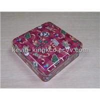 gift square tin