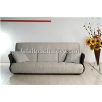 sofa bed with wicker