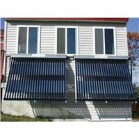 solar evacuated tube collector heatpipe(solar keymark certificate)