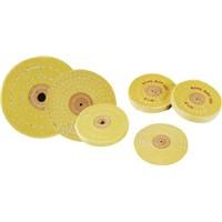 Yellow Cotton Buffing Wheel