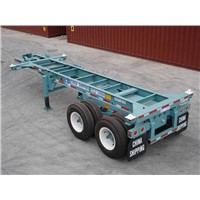23 '6'' Slider Container Chassis