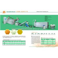 Bread crumbs machinery