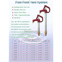 Frost Proof Yard Hydrant (HL200)