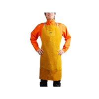 Leather Chest Protecting Bib Apron