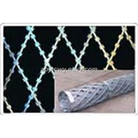 Straight-Line Razor Barbed Wire Mesh