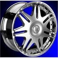 chrome aluminum wheel