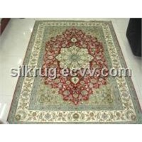 Handemade Silk Carpet (86100010)