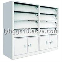 Office Furniture, Compact Shelf. High Density Storage (HG-417)