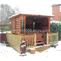 outdoor spa arbor SR891