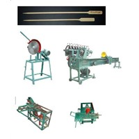 Toothpick Machine, Chopsticks Machine, Bamboo Barbecue Skewer Machine