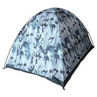 Dome Tent in Camouflage for 2 Persons