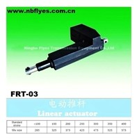 Electric linear actuator for medical equipments