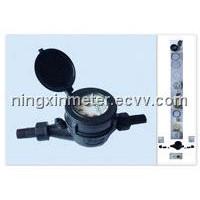 Multi-Jet Plastic Water Meter (LXSG-15-20E)